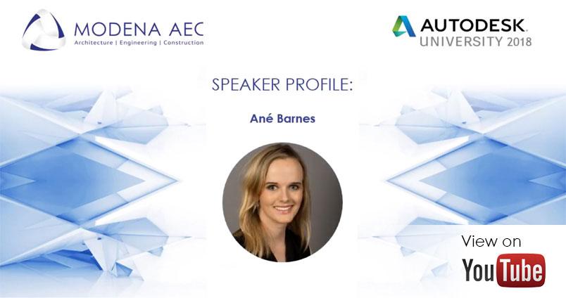 Ane Barnes - AU Africa 2018 speaker
