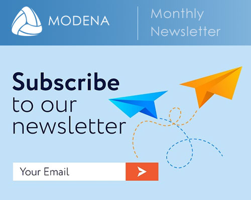 Modena digital newsletter signup