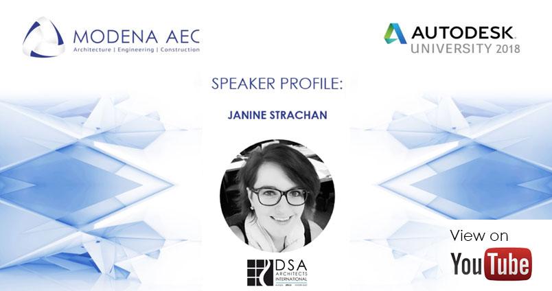 Janine Strachan - AU Africa 2018 speaker