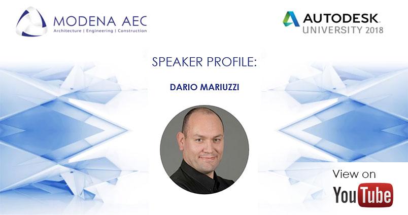 Mario Mariuzzi - AU Africa 2018 speaker